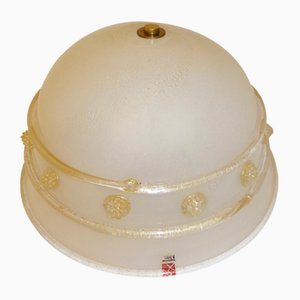 Lampada da soffitto di Ercole Barovier per Barovier & Toso, Italia, anni '60