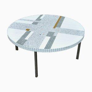 Tavolino da caffè a mosaico di Heinz Lilienthal, anni '60