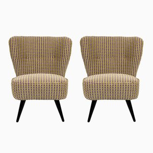 Spanish Low Chairs, 1960s, Set of 2
