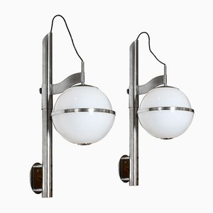 Pusicona Wall Lights by Micolitti for Artemide, 1970s, Set of 2