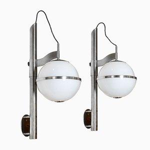 Pusicona Wandlampen von Micolitti für Artemide, 1970er, 2er Set