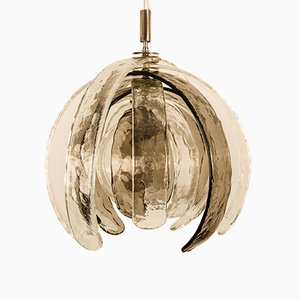 Sculptural Artichoke Pendant by Carlo Nason for Mazzega, 1970s