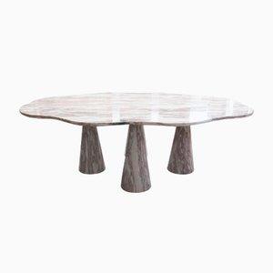 Tavolino da caffè in marmo di Angelo Mangiarotti, Italia, anni '60