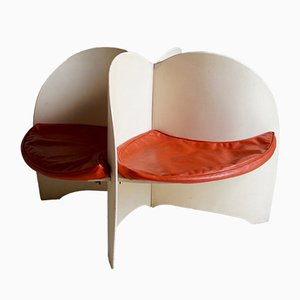 Mid-Century Propeller Chair, 1960er