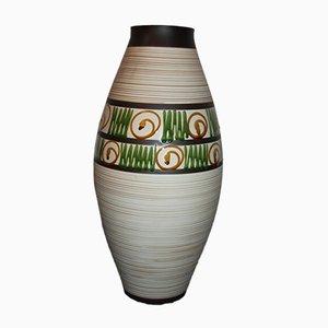 Handbemalte Österreichische Vase von Keramos, 1950er