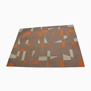 Geometrischer Mid-Century Teppich
