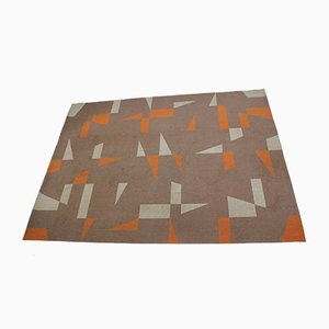 Mid-Century Geometric Carpet