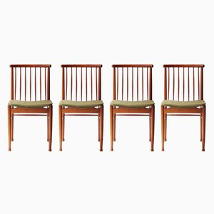 Swedish Chairs, 1960s, Set of 4