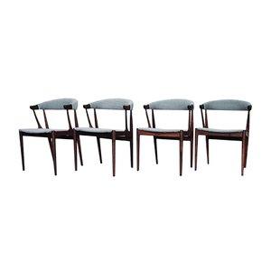 Chaises de Salon BA 113 Vintage en Palissandre par Johannes Andersen pour Andersen Møbelfabrik, Set de 4