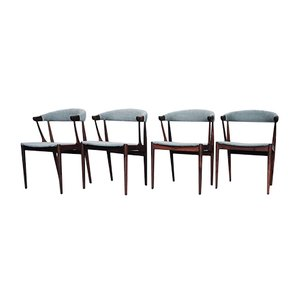 Vintage BA 113 Rosewood Dining Chairs by Johannes Andersen for Andersen Møbelfabrik, Set of 4