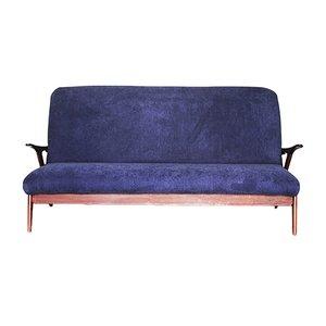 Niederländisches Vintage Teak Sofa, 1950er