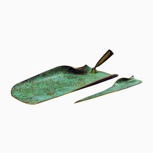 Mid-Century Letter Opener in Bronze