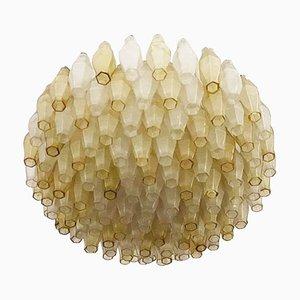 Murano Glas Deckenlampe von Paolo Venini, 1970er