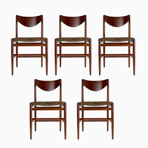 Chaises de Salon par Gianfranco Frattini pour Cassina, 1960s, Set de 5