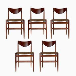 Esszimmer Stühle von Gianfranco Frattini für Cassina, 1960er, 5er Set