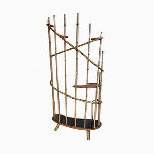 Vaso in bambù, anni '50