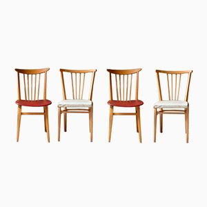 Rockabilly Dining Chairs, 1950s, Set of 4