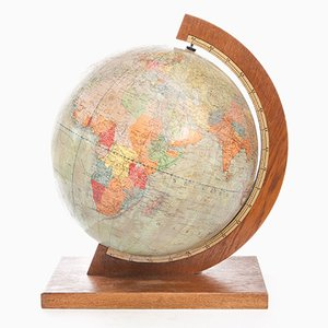 Globe Art Déco de Dietrich Reimers, Allemagne, 1939