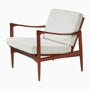 Modell 806 Teak Candidate Sessel von Ib Kofod-Larsen für OPE, 1950er