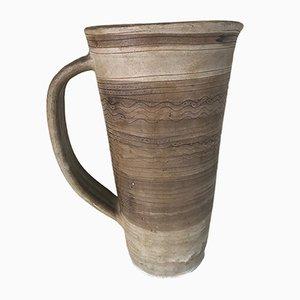 Jarro vintage de cerámica, años 60