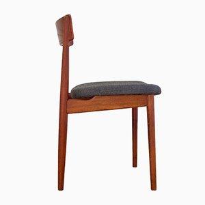 Dänischer Beistellstuhl von Henry Rosengren Hansen für Brande Mobelindustri, 1960er
