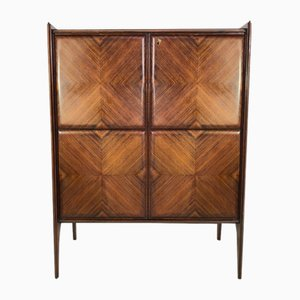 Mid-Century Rosewood Cabinet, 1950s