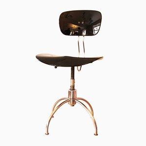 Mid-Century Height-Adjustable SE 40 Office Swivel Chair by Egon Eiermann for Wilde & Spieth