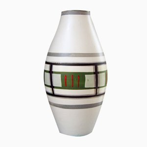 German Fat Lava Ceramic Vase from Scheurich, 1960s