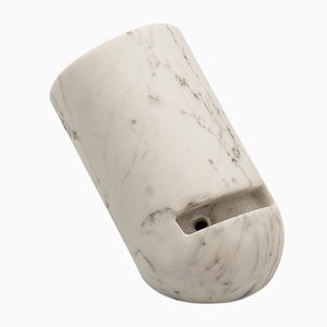 Ovo Marble Mobile Phone Amplifier by May Day & Andrea Maldifassi for Pietre di Monitillo