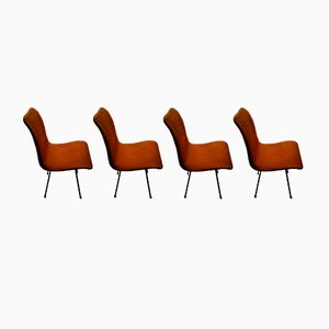 Chaises de Salon Q Rod par Robin & Lucienne Day pour Hille, 1958, Set de 4