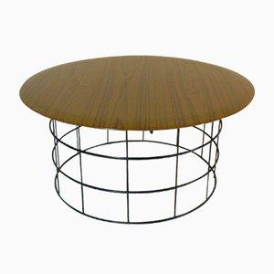 Tavolino da caffè Mid-Century di Verner Panton per Linje Plus, anni '60