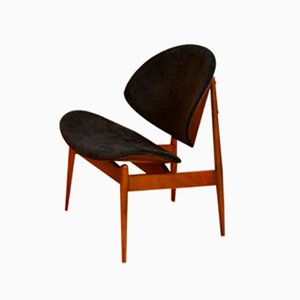 Clamshell Chair by Seymour James Wiener for Kodawood, 1961
