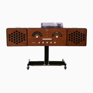 Radiofonografo RR126 par Pier Giacomo & Achille Castiglioni pour Brionvega, 1965