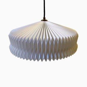 Lámpara colgante danesa modernista de Le Klint, años 70