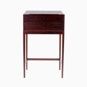 Danish Rosewood Desk by Langkilde, 1950s