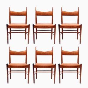 Chaises de Salon en Palissandre par Vestervig Eriksen, 1960s, Set de 6