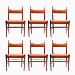 Rosewood Dining Chairs by Vestervig Eriksen, 1960s, Set of 6