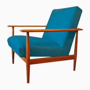 Mid-Century Scandinavian Lounge Chair, 1960s