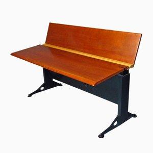 Verstellbarer Schreibtisch mit Furnier aus Buche von Geoff Hollington für Herman Miller, 1970er