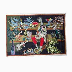 Le Potier Tapestry by Robert Debieve, 1950s