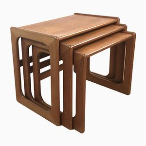 Tavoli ad incastro, anni '60, set di 3