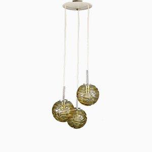 Deutsche Kaskaden Lampe von Doria Leuchten, 1970er
