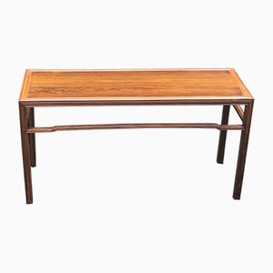 Model 1975 Solid Rosewood Side Table by Fritz Henningsen, 1950s