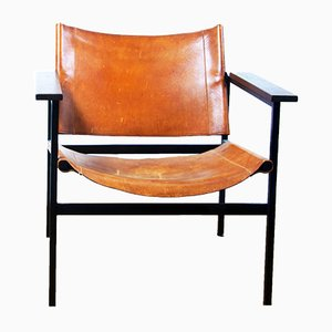 ST 805 Lounge Chair By Eddie Harlis For Thonet