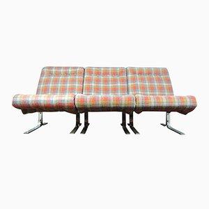 Sofá danés modular triseccional, años 60
