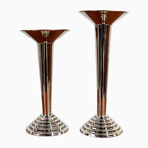 Candlestick Holders, 1950s, Set of 2