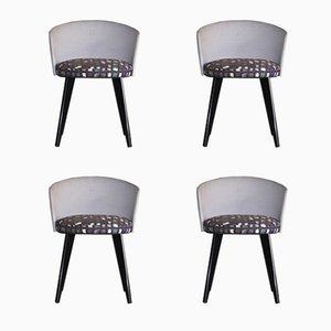 Vintage G63 Stühle von Grinder Enry für Saporiti Italia, 1980er, 4er Set