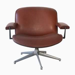 Rosewood Lounge Chair by Ico Parisi for MIM, 1962