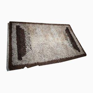 Modernist Dutch High-Pile Wool Carpet from Wassenaar, 1970s