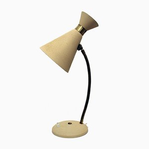 Austrian Table Lamp with Flexible Arm from Rupert Nikoll, 1950s